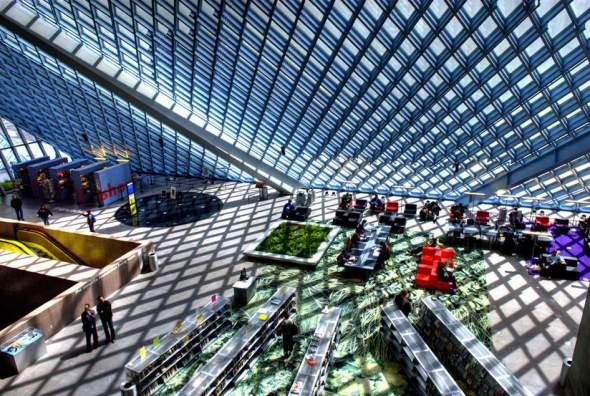 Centralna biblioteka u Sijetlu, SAD