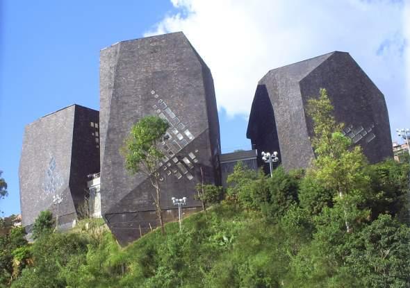 Javna biblioteka u Santu Domingu, Kolumbija