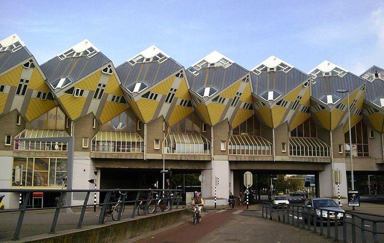 Kockaste kuće, Roterdam, Holandija