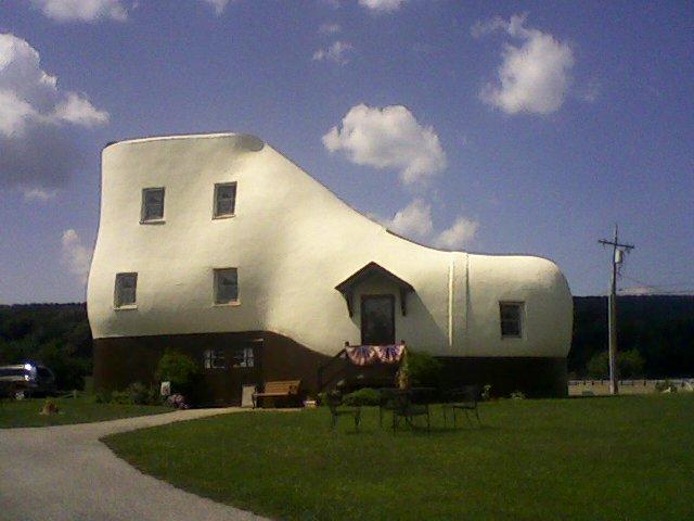 Kuća u obliku cipele, Pensilvanija, SAD