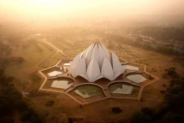''Lotusov hram'', Nju Delhi, Indija