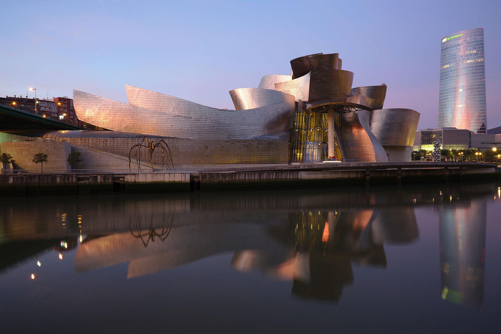 Muzej ''Gugenhajm'', Bilbao, Španija