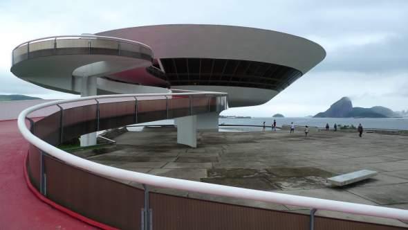 Muzej savremene umetnosti, Niteroj, Brazil