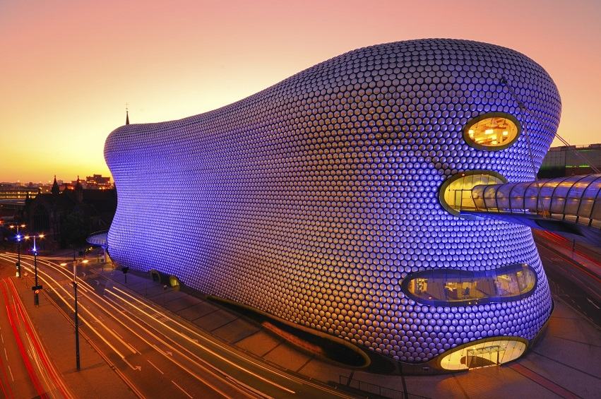 Tržni centar ''Birmingham Bull Ring '', Birmingem, Velika Britanija