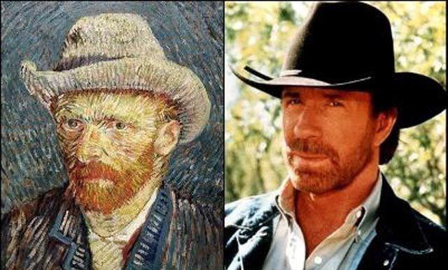 Chuck Norris i Vincent van Gogh