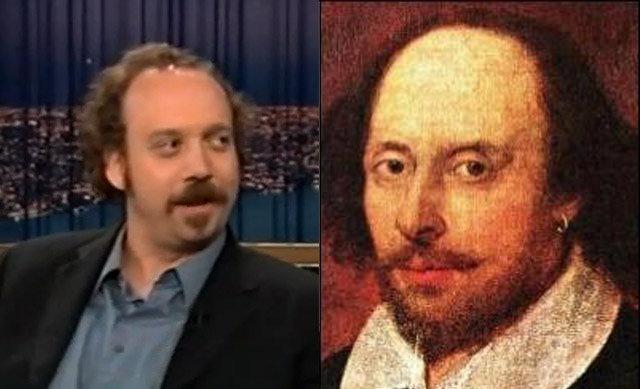 Paul Giamatti i William Shakespeare