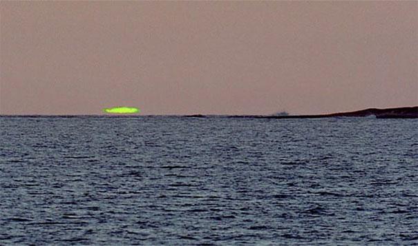 zelena svetlost