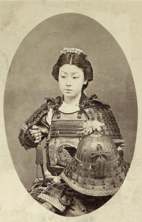 zena-samuraj