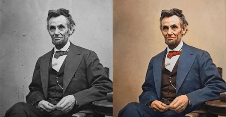 Abraham Linkoln, 1865