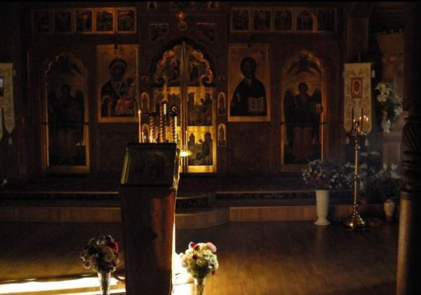 crkva svetog andreja prvozvanog