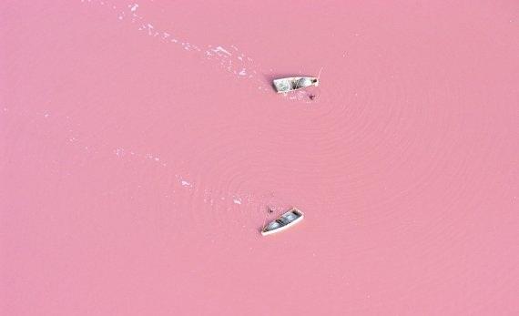 ruzicasto jezero