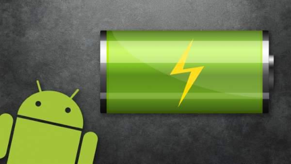 android baterija