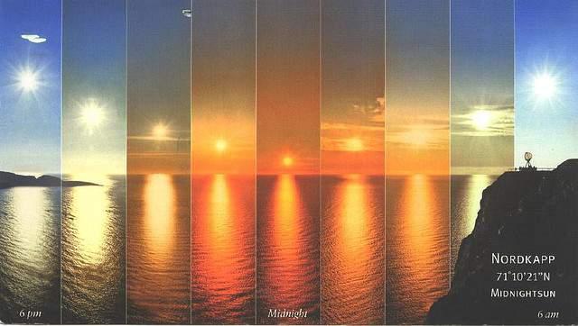 norveška ponoćno sunce