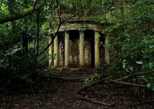 Ostaci nekadašnje kolonade