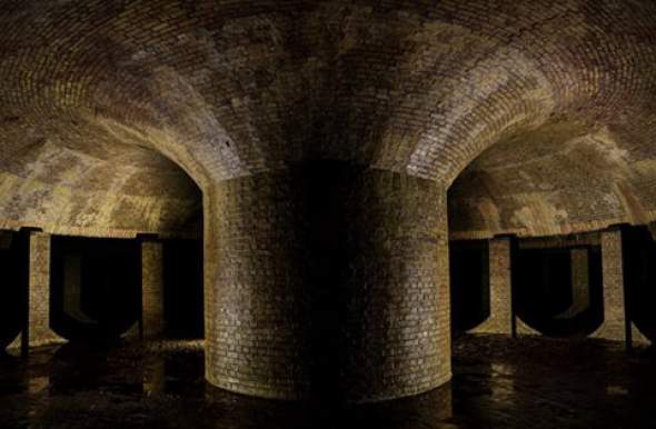 Podzemni rezervoar u Londonu