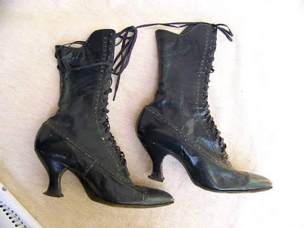 Čizme iz Viktorijanskog doba, 19. vek
