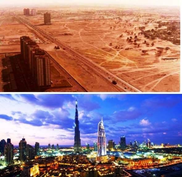 Dubai nekad sad