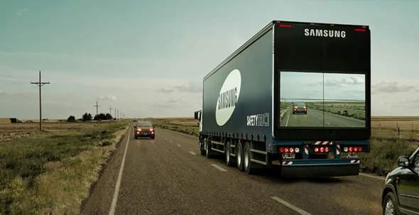 samsung kamioni preticanje