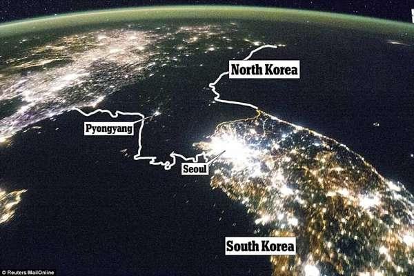 severna korea južna korea