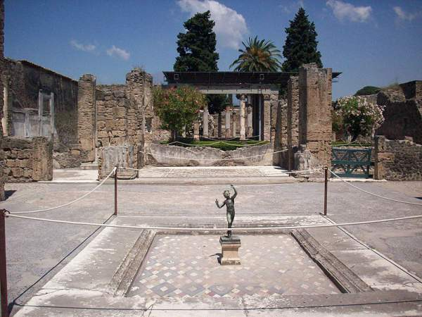 faunova vila pompeja