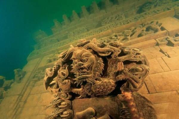 kina drevni grad pod vodom