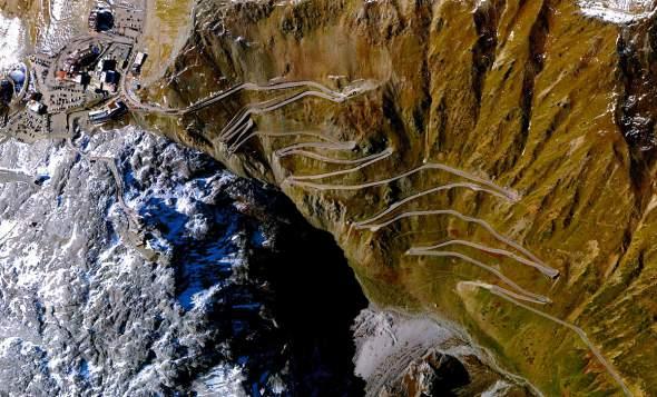 Planinski prevoj na severu Italije