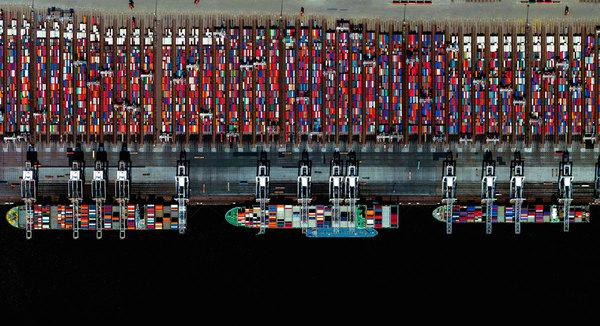 Roterdamska luka, najveća luka u Evropi