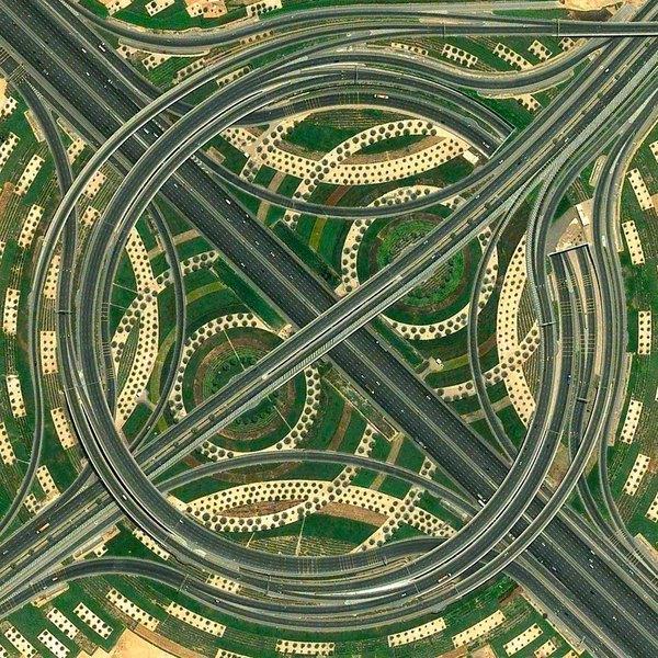 Saobraćajna petlja u Dubaiju