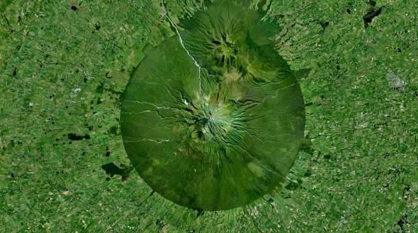 Taranaki, stratovulkan na Novom Zelandu