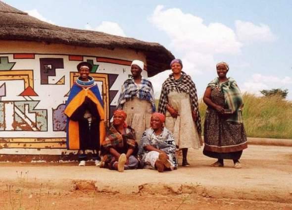 Ndebele - žene