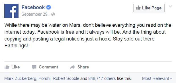 naplaćivanje facebooka