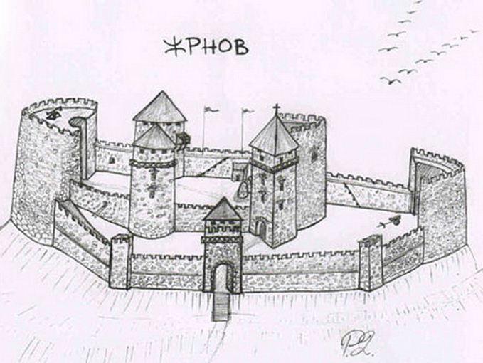 tvrđava žrnov