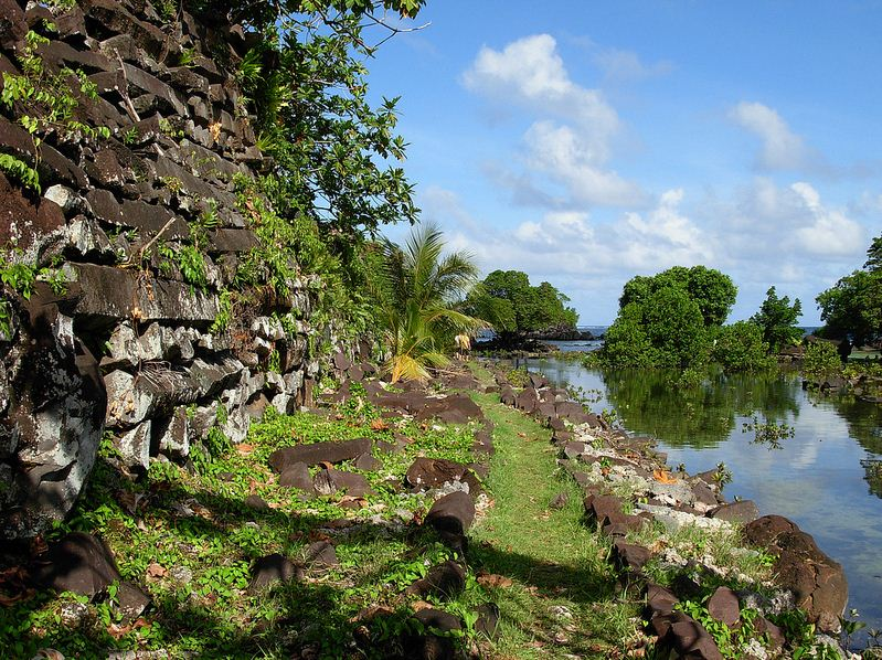 nan madol Archaeological curator jim krakker shares some of the artifacts stored at the smithsonian archives that were excavated from the islet of pahn kadira, the royal.