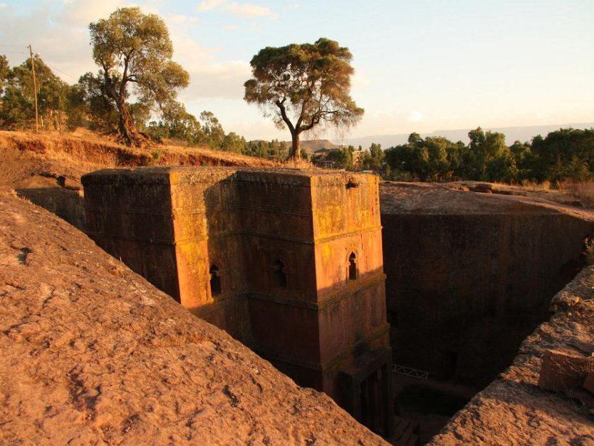 crkve u kamenu, etiopija