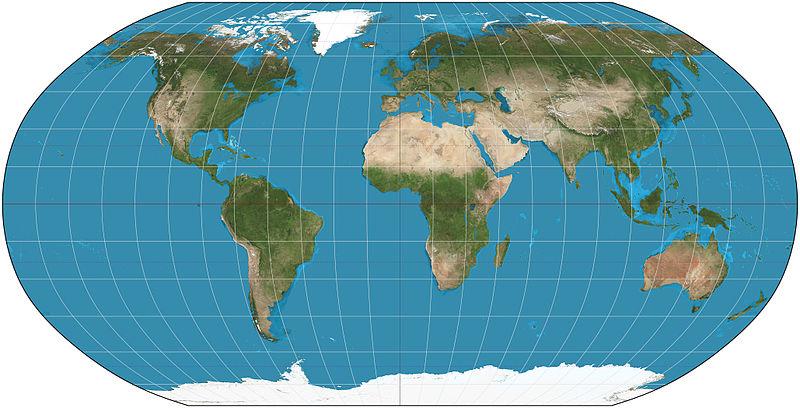 robinsonova mapa