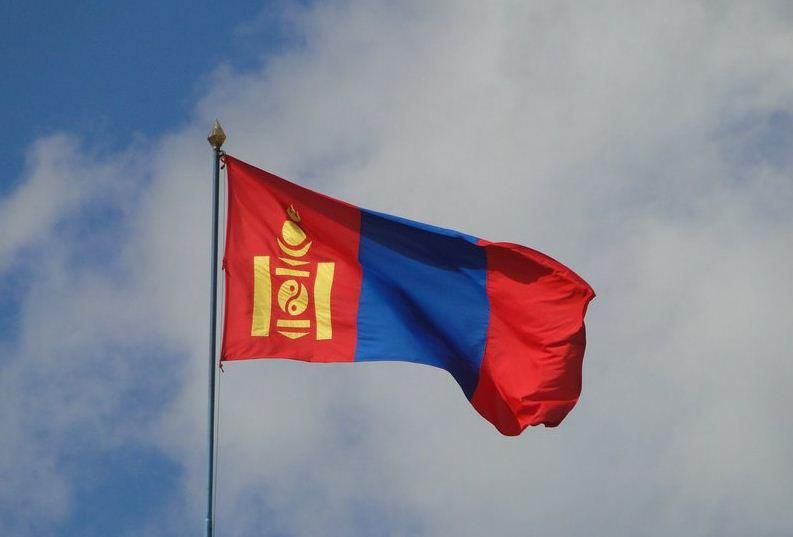 mongolska zastava