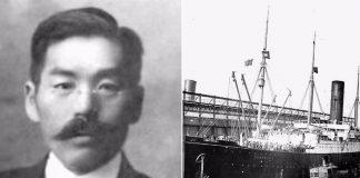 jedini japanac na titaniku
